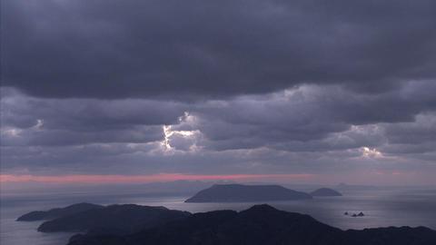 雲tlps 瀬戸内海02 Footage