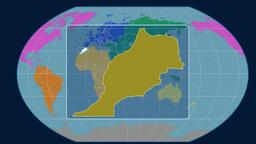 Morocco (Kavrayskiy VII). Continents Animation