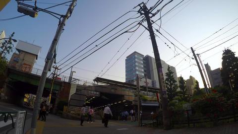State of Otsukaekimae, time-lapse ビデオ