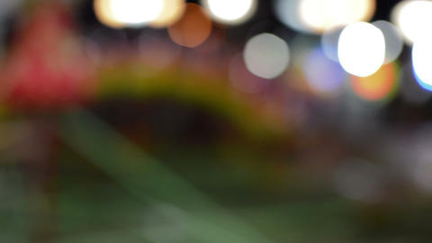 Defocused Bokeh Lights And Lens Flare, Abstract Light Background GIF