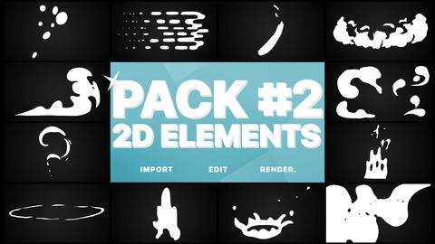 Elements Pack 02 Premiere Pro Template