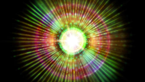 Pulsar 017: A graphic pulsar star radiates light and pulsates energy Animation