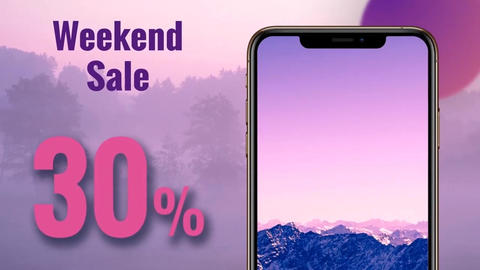 Iphone Xs Mockup Promo After Effects Template