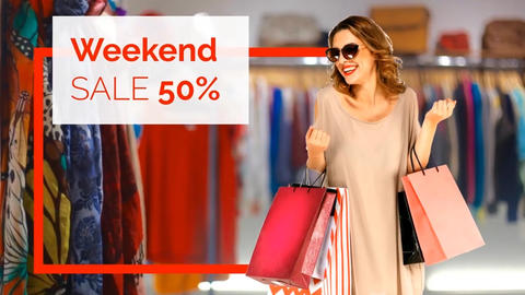 Market Promo - Sale After Effects Template