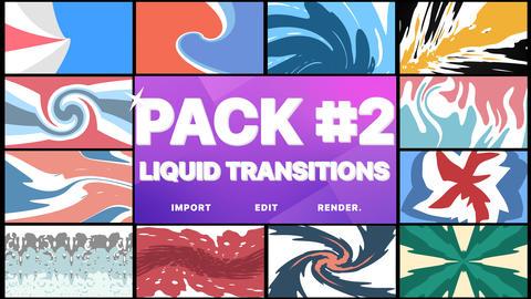 Liquid Transitions Pack 02 Premiere Pro Template