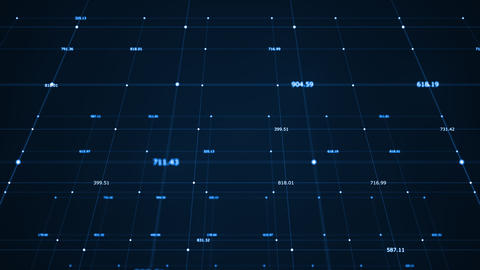 Big data visualization. Machine learning algorithms.... Stock Video Footage
