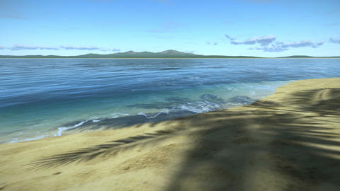 Relax on Tropical Beach Animation