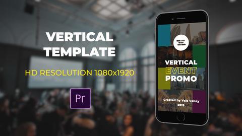Vertical Event Promo Premiere Pro Template