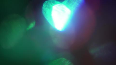 Multi-colored bokeh sci-fi elegant shimmering background Footage
