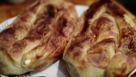 Burek Well Known Fast Food Made From Dough Live Action