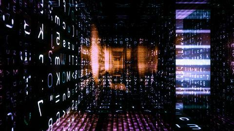 Digital Graffiti 036: Traveling through a maze of streaming data Animation