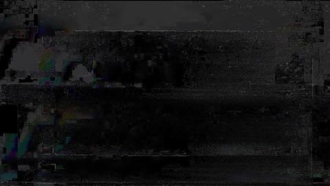 Advantage No Signal On Television Gltich Effect Animation