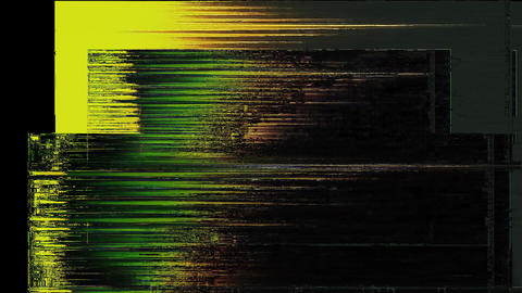 Profound Digital Animation. Pixel Noise Glitch Error Video Damage Animation