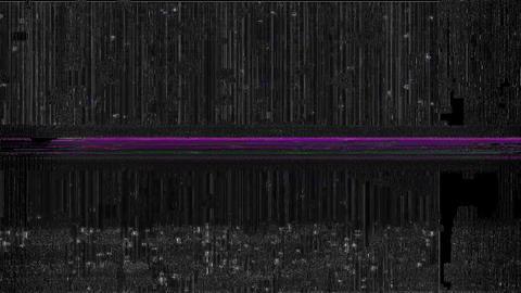 Data Glitch - Digital Video Malfunction Reality Animation