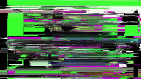 Stadium Digital Old Tv Screen Glitch Interference Animation Animation