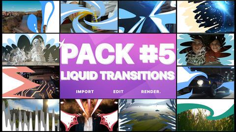 Liquid Transitions Pack 05 Premiere Pro Template