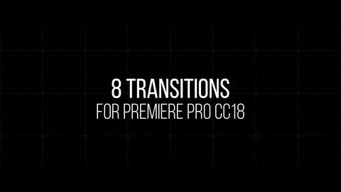 8 Smooth transition Premiere Pro Template