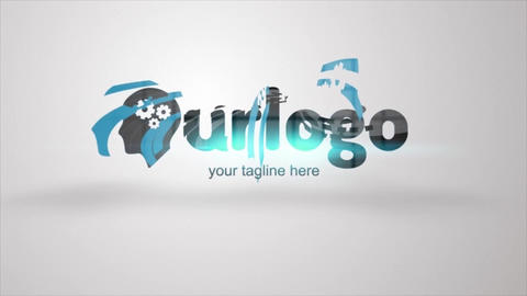 Calibre Logo Formation Animation After Effects Template