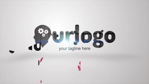 Click Logo Reveal After Effects Template