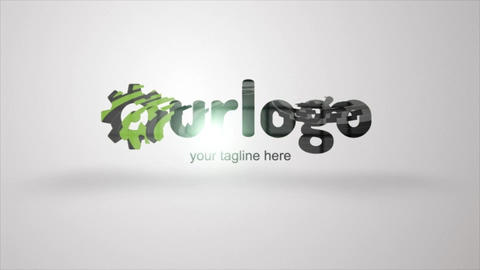 Geo Logo Reveal After Effects Template