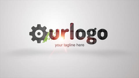 Logo Formation Creative Animation After Effects Template
