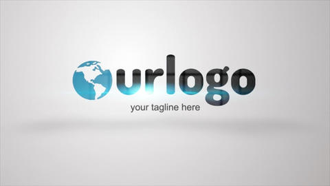Logo Reveal Machine After Effects Template