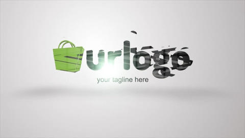 Via Logo Formation After Effects Template