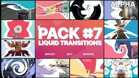 Liquid Transitions Pack 07 Premiere Pro Template