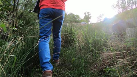 Walking in Farm ビデオ