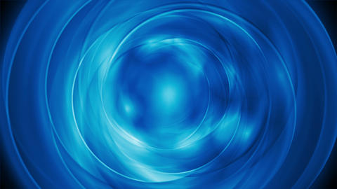 Bright blue abstract rotation video clip Animation