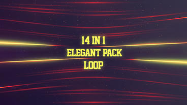 14 in 1 Elegant Background Pack After Effects Project