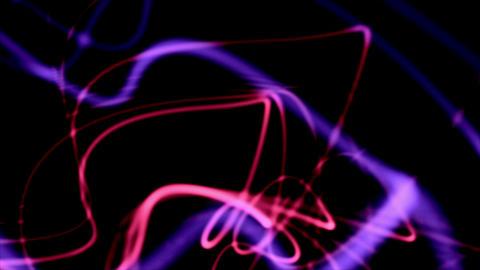 Plasma Purple Moving Energy Rays On Black Background Animation
