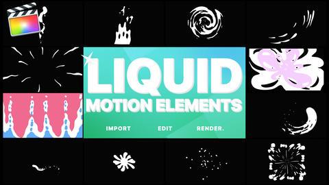 Liquid Motion Elements Apple Motion Template