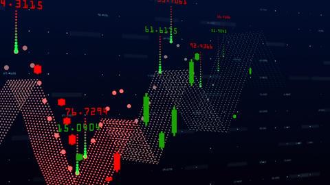 Economics Index Background Animation