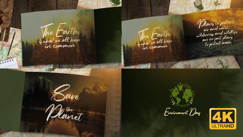 Nature Opener After Effects Template