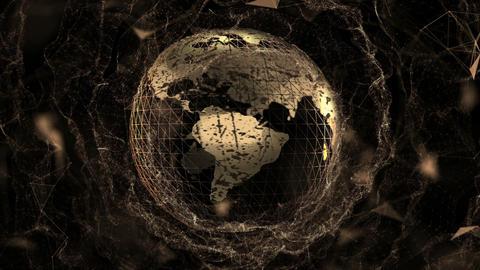Golden globe Animation