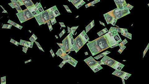 australia 100 dollar animation Animation