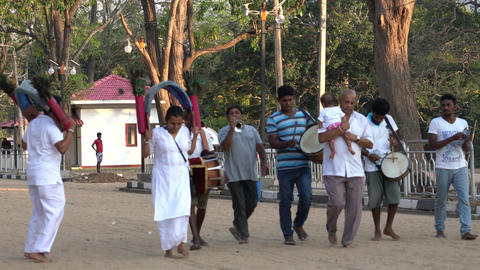 Kataragama, Sri Lanka - 2019-03-29 - Small Celebration…, Live Action