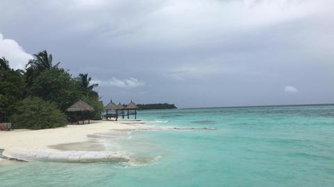 Maldives islands Male Footage