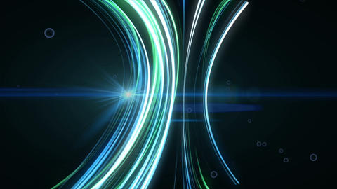 Abstract lines background. HD 1080 Animation