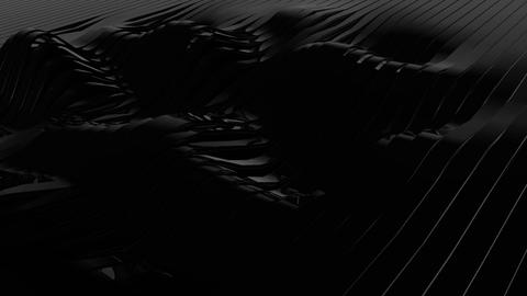 Black abstract background. Seamless loop CG動画