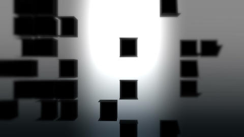 Folding cube background 05 Animation