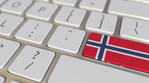 Key with flag of Norway on the computer keyboard switches to key with flag of Live Action