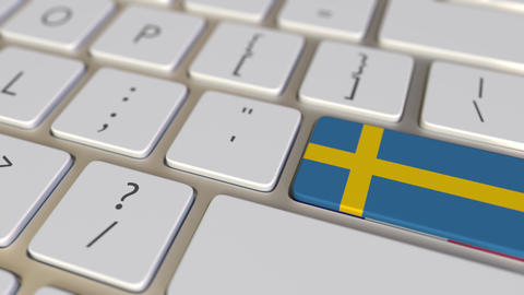 Key with flag of Sweden on the computer keyboard switches to key with flag of Live Action