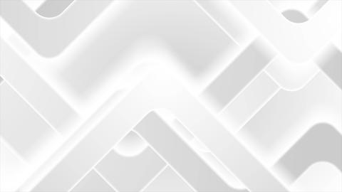 White gray abstract geometric tech video animation Animation
