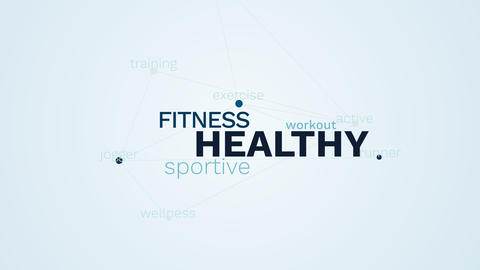 healthy fitness sportive workout active lifestyle exercise runner jogger Footage