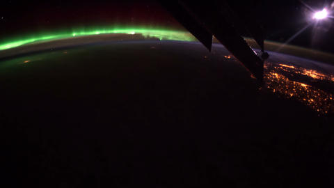 Planet Earth seen from the ISS. Elements of this video…, Live Action