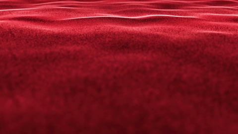 Red Carpet, Textile Animation Carpet Background, Rendering, Loop, 4k Animation