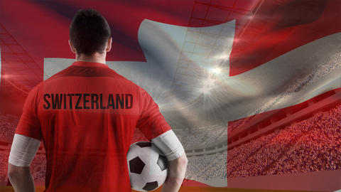 Switzerland soccer player Animation