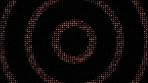 Abstract Circle Disco Dance Lights Background and Green Screen, Animation, Rendering, Loop, 4k Animation